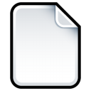 blank, empty, document, file, paper icon