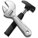 screwdriver, setting, configure, configuration, utility, build, option, preference, hammer, config, code, tool icon