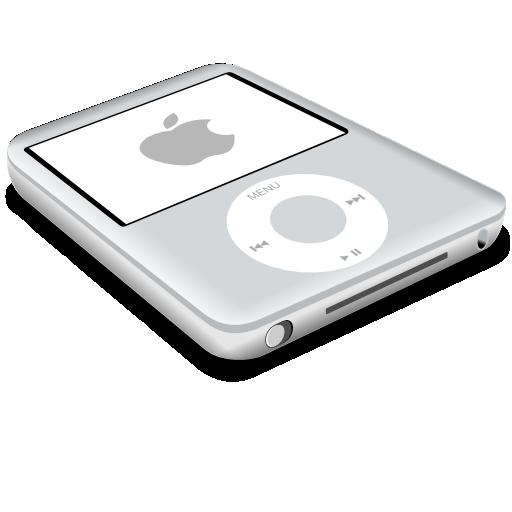grey, ipod, nano icon