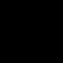 Striped planet icon