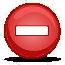 Dialog, Error, Gtk icon