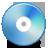 ray, blu, disc icon