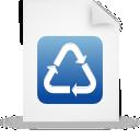 blue, file, paper, document icon