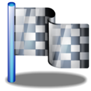 flag, checkered icon