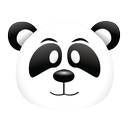 black hat, google panda, google, panda icon