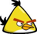 angry birds, yellow bird icon