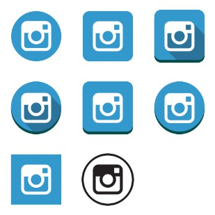 Instagram Classic icon sets preview