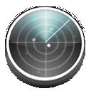 Detect, Network, Preferences, Radar, System icon