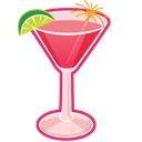Cocktail, Cosmopolitan icon