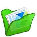 folder,green,mypictures icon
