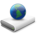 drive, connected icon