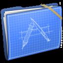 Blue Elastic Developer icon