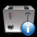 Info, Toaster icon