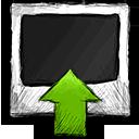 upload, photo icon