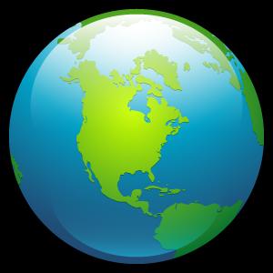 globe, planet, earth, world icon