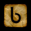 buzz, logo, yahoo, square icon