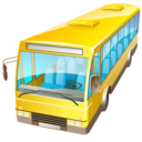 bus,automobile,transportation icon