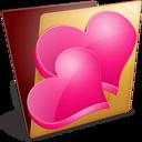 golden,favourite,folder icon