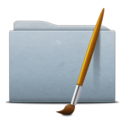 Folder Graphite Art icon