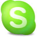 Actions skype contact online icon