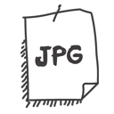 jpg, paper, file, document, jpeg icon