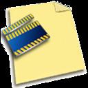 media, clip icon