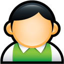 Green, Preppy, User icon