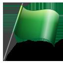 green, flag icon
