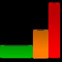 graph, analytics, chart icon
