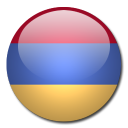armenia, flag, country icon
