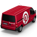 Pinterest Van Back icon