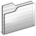 white, generic, folder icon