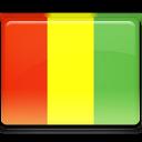 guinea, flag icon