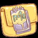 Folder, Hp, Note icon