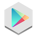 google, play icon