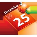 december, schedule, christmas, calendar, date, december 25 icon