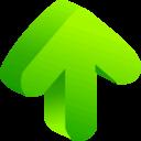 Arrow Green 03 icon