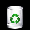 recycle bin, empty, trashcan icon