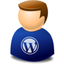 user,web,wordpress icon