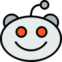 reddit, logo, social, media icon