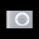 shuffle, ipod, silver icon