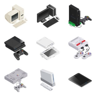 GameDevTycoon - Platforms icon sets preview