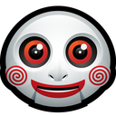 mask, jigsaw, clown, doll, halloween, monster, saw icon