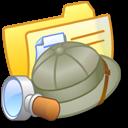 explorer, yellow, folder icon