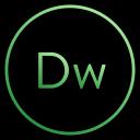 design, coding, dreamweaver, app, web, adobe, cs icon