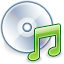 save, disk, disc, audio, cd icon