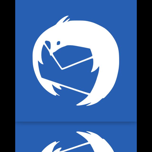 thunderbird, mirror icon