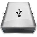 White Firewire icon