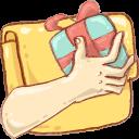 share, folder icon