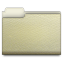 leather,folder,white icon